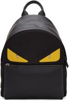 Fendi Black bag Bug Backpack