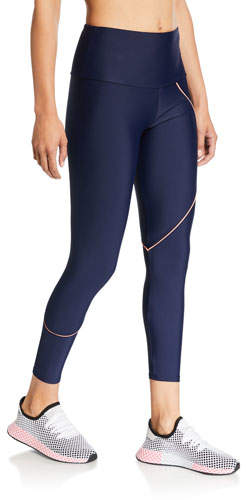 Onzie Hyper Beam High-Rise Piping Leggings