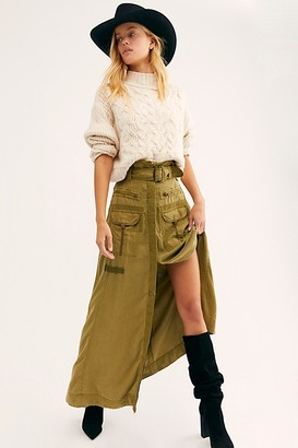 Free People The Feeling Of Falling Utility Skirt