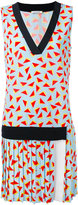 Iceberg drop waist printed dress - women - Polyester/Spandex/Elastane/Viscose - 42