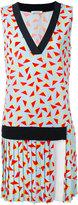 Iceberg drop waist printed dress - women - Polyester/Viscose/Spandex/Elastane - 40
