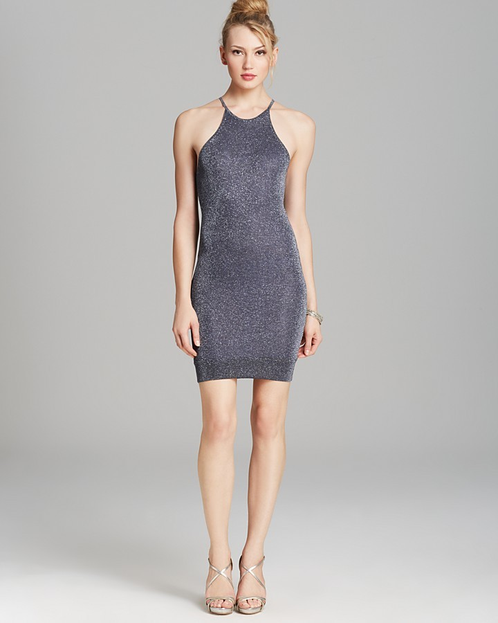 Bec & Bridge Lurex Knit Tank Dress - Antheias