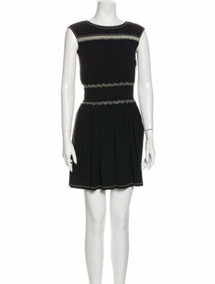 Prada 2014 Mini Dress Black