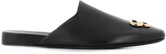 Balenciaga BB square toe slippers