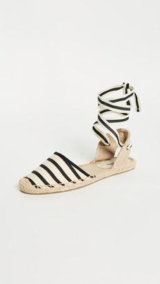Soludos Striped Espadrille Sandals