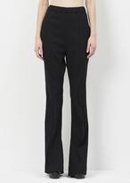 Marni black seamed pull on trouser
