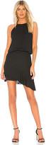 Krisa Halter High Low Mini Dress