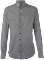 Dolce & Gabbana dot print shirt - men - Cotton/Spandex/Elastane - 40