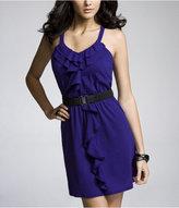 Express Ruffled-Front Dress