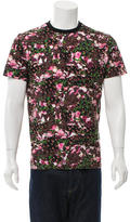 Givenchy Floral Short Sleeve T-Shirt