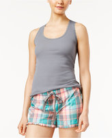 Jenni by Jennifer Moore Racerback Pajama Tank Top, Only at Macy's