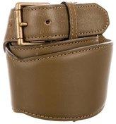 Alaia Charm Leather Belt