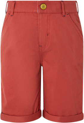 Under Armour Rufus Shorts with Dinosaur Trim Red