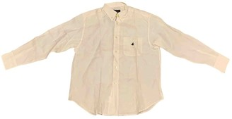 Brooksfield White Linen Top for Women