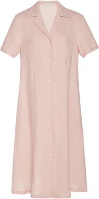 Mansur Gavriel Linen Dress