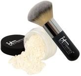 It Cosmetics Bye Bye Pores HD Finishing Powder w/Hydro Collagen& Brush