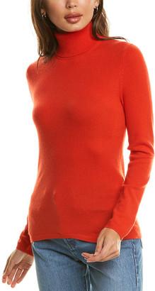 InCashmere Turtleneck Cashmere Sweater