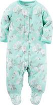 Carter's Long-Sleeve Floral Sleep & Play - Baby Girls newborn-24m