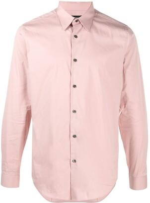 Theory Sylvain poplin shirt