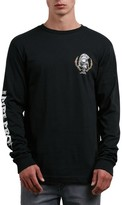 Volcom Men's Pipe Pro Seal Graphic Long Sleeve T-Shirt