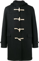 Saint Laurent classic duffle coat - men - Cotton/Viscose/Virgin Wool - 44