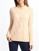 John Lewis Cashmere Cable Knit Jumper
