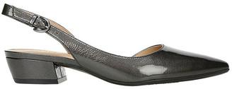 Naturalizer Banks Gunmetal Heeled Shoes