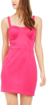 Trixxi Juniors' Bustier Bodycon Dress