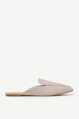 Ardene Pointy Toe Faux Suede Mules