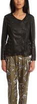 3.1 Phillip Lim Studded Ruffle Leather Jacket