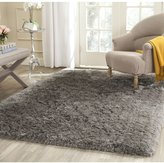 Safavieh SG270G-5SQ Artic Shag Collection Handmade Polyester Area Rug, 5-Feet Square