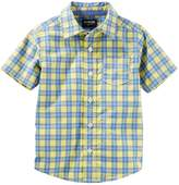 Osh Kosh Oshkosh Bgosh Boys 4-12 Button-Up Shirt