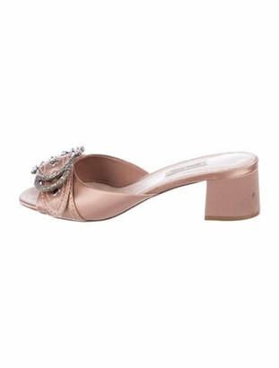Miu Miu Slides Pink