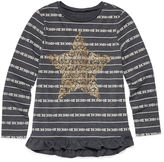 Arizona Long-Sleeve Graphic Top - Preschool Girls 4-6x