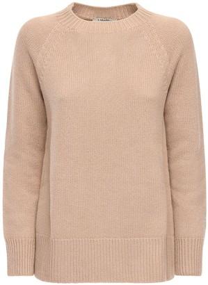 Cashmere Knit Round Neck Sweater