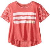 True Religion Stars & Stripes Drape Tee (Little Kids/Big Kids)