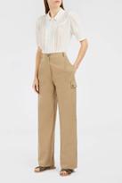Paul & Joe Cotton Poplin Cargo Trousers