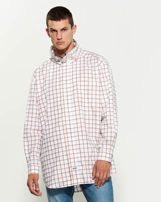 Martine Rose Drawcord Plaid Shirt Jacket