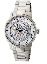 Heritor Ryder Mens Silver Tone Bracelet Watch-Herhr4607