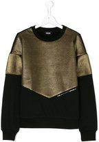 Diesel metallic sweatshirt
