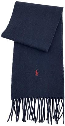 Ralph Lauren Black Wool Scarves