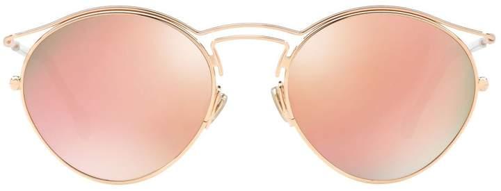 Christian Dior Round Brow Bar Sunglasses