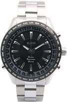 Elgin GPS Satellite radio controlled watch Quartz Men's Watch GPS2000S-B Black