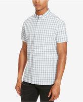 Kenneth Cole Reaction Men's Michael Large-Grid Button-Down Shirt