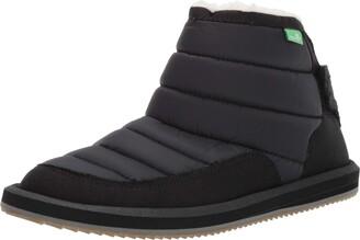 Sanuk unisex child Lil Puffer Fashion Boot