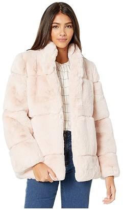 Apparis Sarah 2 Faux Fur Coat (Purple Clover) Women's Jacket