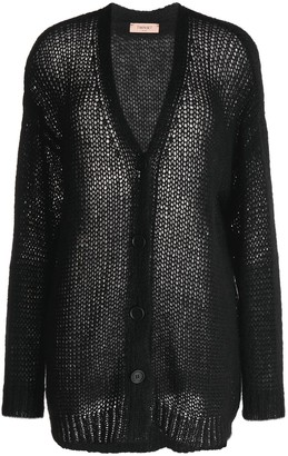 Twin-Set buttoned V-neck cardigan