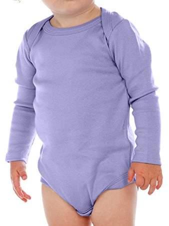 Kavio! Unisex Infants Lap Shoulder Long Sleeve Onesie 12M