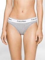 Calvin Klein Womens Modern Cotton Thong Underwear