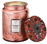Voluspa Japonica - Persimmon & Copal Large Embossed Jar Candle